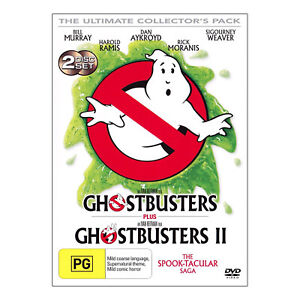 Ghostbusters 1 & 2 DVD The Ultimate Collector's Pack - Brand New - Bill Murray