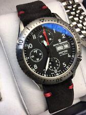 Chronograph Watch Revue Thommen Airspeed Day/date