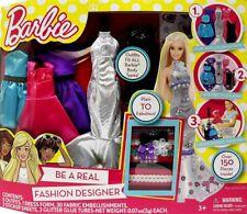 Tara Toy Barbie Be a Fashion Designer Doll Dress Up Kit