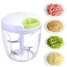 Manual Pull Rope Food Vegetable Chopper Hand Held Pulling Slicer Kitchen Tool