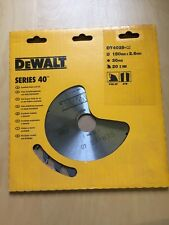 Dewalt Series 40 Circular Saw Blade 180 x 30 x 20 Teeth DT4029 - QZ