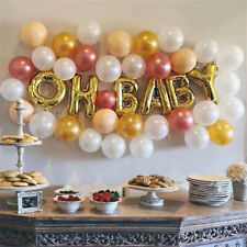 16 inch Oh Baby Foil Balloons Baby Shower Birthday Balloon Letter Party