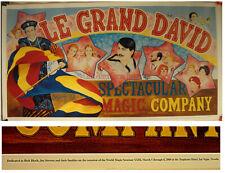 Le Grand David Color Poster-World Magic Seminar Xxiii-2000-Las Vegas-v.Fine-Af