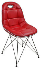 Schalenstuhl Anja 2er Set Rot Pep Designer Retro Stühle 60er Jahre Pop Art