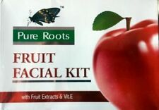 New Pure Roots™FRUIT FACIAL KIT WITH FRUIT EXTRACTS AND VIT.E 80GM FREE SHIPING