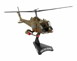 Daron Worldwide Trading Postage Stamp UH1 Huey Gunship Historical Helicopter