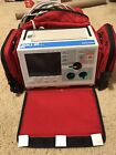 Zoll M Series Biphasic 200 Joules Monitor 3 Lead  ECG Pacing Analyze W/case