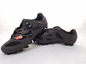 NEW Mavic Crossmax Elite Mountain Bike Shoes SPD US 9 Brown/Orange/Black Reg$165