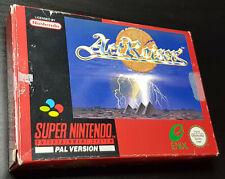 Actraiser (Super Nintendo - SNES) Complete In Box (CIB) GERMAN/DEUTSCH