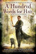 A Hundred Words For Hate by Thomas E. Sniegoski SC new
