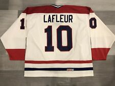 CCM Guy Lafleur Montreal Canadiens White Ultrafil NHL Hockey Jersey Size XL
