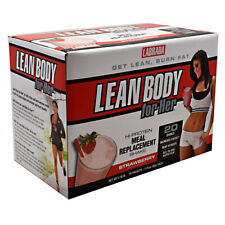 Labrada Nutrition LEAN BODY FOR HER Protein Meal Replacement 20 Packs STRAWBERRY