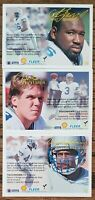 NRMT - MNT 1994 Fleer Shell FACT Seattle Seahawks Team Set 3 Card Lot