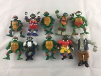 Vintage TMNT Teenage Mutant Ninja Turtle Action Figures - 2 '88 Figures