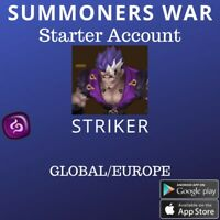Summoners War Dark Striker Vancliffe Starter Account