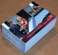 The Vampire Diaries Season 2 ~ COMPLETE 69-CARD BASE SET (Cryptozoic, 2012)