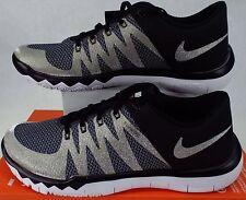 New Mens 8 NIKE Free Trainer 5.0 V6 AMP Black Gold Run Shoes $110 723939-071