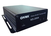 Class B+ AIS Transponder black box w/GPS antenna (10M cable included)