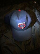 Minnesota Twins Hat Cap Red White Blue