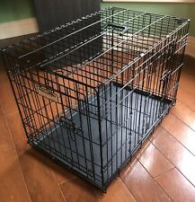 Precision Pet Two-Door Great Crate With Removable Training Divider-30x19x21 in