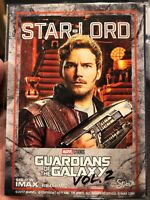 Marvel Guardians of the Galaxy vol. 2 STARLORD AMC Promo Trading Card