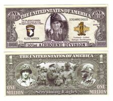 "1 MILLION DOLLARS ETATS-UNIS ""101st AIRBORNE DIVISION"""
