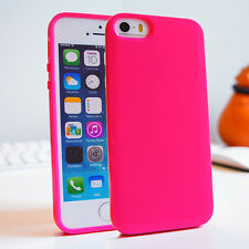 Soft Slim Skin Silicone Gel TPU Bumper Cover Case for iPhone 6 5S 5 5C 4 4S NEW