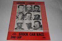 Stock Car, Nascar Auto Racing Gardena Stadium, Gardena California, 1955-56