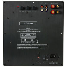 NEW Subwoofer box Amplifier.500w.Speaker Amp.Replacement.Woofer BASS Power Plate