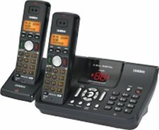 UNIDEN WDSS 5355+1 BLACK Digital Cordless Phone System HOME OR OFFICE 5.8GHz