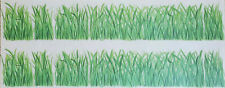 "Tatouage - Grass 4"" x 48"" - Dry Rub Transfer"