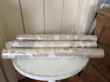 Laura Ashley Tamara Copper Wallpaper x 3 Rolls (Same Batch No.)