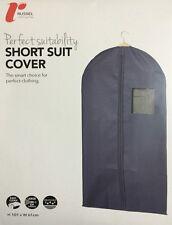 Russel Short Suit Garment Gown Dress Clothes Shirt Cover Navy Canvas New H&L