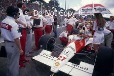 Ayrton Senna McLaren MP4/5B Brazilian Grand Prix 1990 Photograph