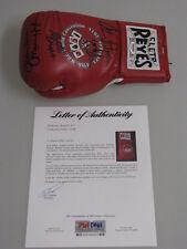 Hagler - Hearns - Duran Hand Signed Boxing Glove + Psa Dna Coa *Buy Genuine*