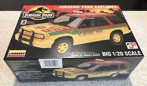 SEALED Jurassic Park Explorer Model Kit  Big 1/20 Scale Lindberg Ford 1994 Movie