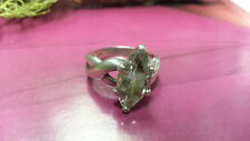 Beautiful Big Clear Marquise Cubic Zirconia Ring 925 Sterling Silver *Size6*F863