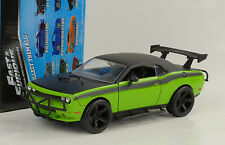 Dodge Challenger SRT8  Movie Film Fast and & Furious 7 1:24 Jada