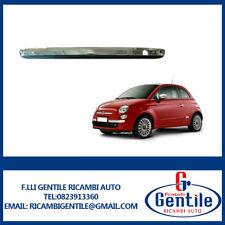 Fiat 500 C dal 2009 al 2015 Leiste Stoßdämpfer hinten Chrom Profil schwarz