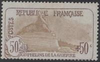 "FRANCE STAMP TIMBRE N° 153 "" ORPHELINS 50c+50c LION DE BELFORT "" NEUF xx TB J345"