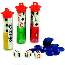 5 LCR Dice Games Free Shipping Less than $5.00 A  Game