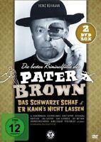 DIE BESTEN KRIMINALFÄLLE DES PATER BROWN - Heinz Rühmann (2 DVDs) *NEU OVP*