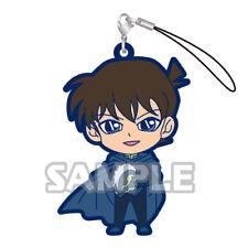 Detective Conan Kudou Shinichi in Cape Gashapon Rubber Phone Strap NEW