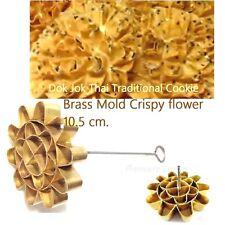 Biggest Brass Mold Dok Jok Thai Traditional Dessert Free Cooking Recipe 10.5 cm