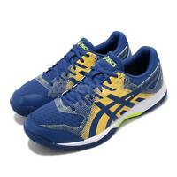 Asics Gel-Rocket 9 Blue Yellow White Men Volleyball Badminton Shoes 1071A030-401