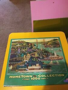 Hometown collection 1000 piece puzzles lot