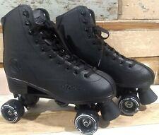 Roller Derby Elite Skates Men's 12 Black Rewind EUC