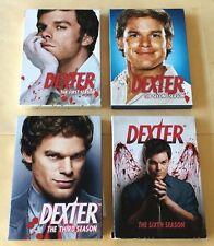 Dexter Seasons 1-2-3-6 DVD Sets USED