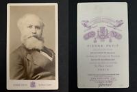 Pierre Petit, Paris, Charles Gounod CDV vintage albumen carte de visite.Charle