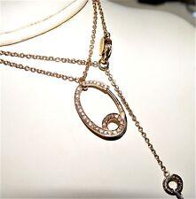 SALVINI 0.25CT Diamond Pendant w/chain Rose Gold 18K gold $2540